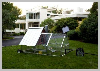 Solar power coop design