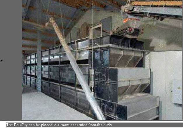 poultry manure system