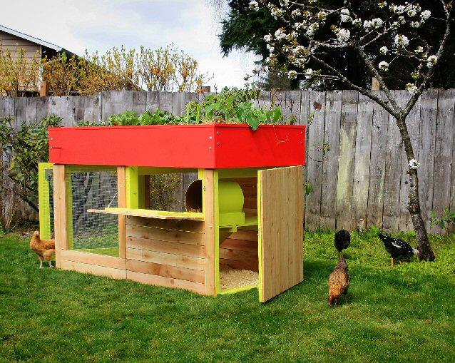 Green Roof En Coop Plans