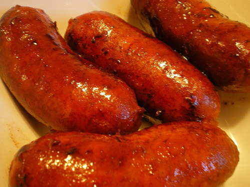 Chicken longganisa