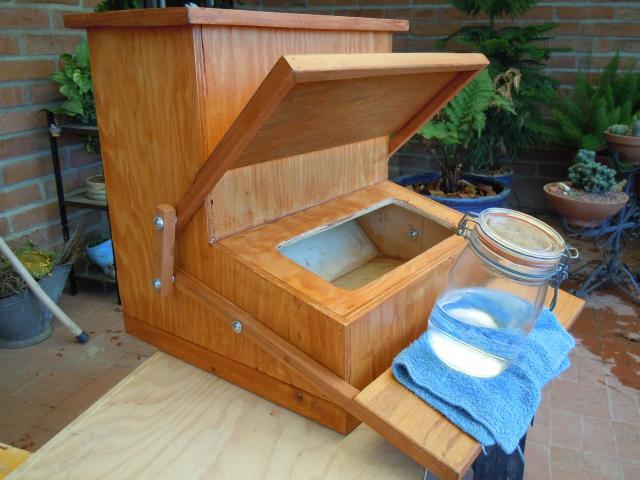 Wooden feeder