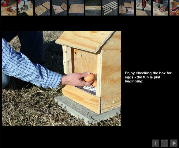 DIY cute nesting box by kelly wood