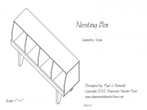 nesting box by paul j.bemett