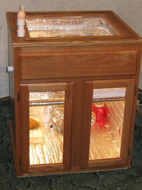 Vanity Cabinet Incubator