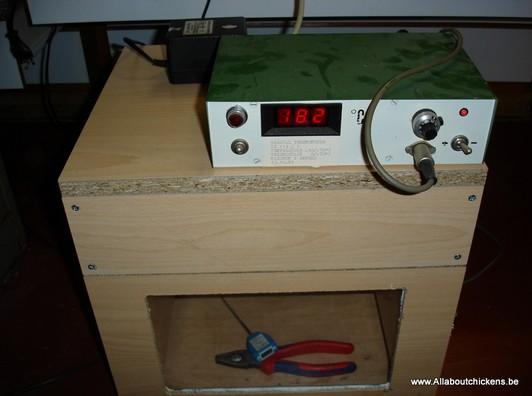Wooden Board Incubator